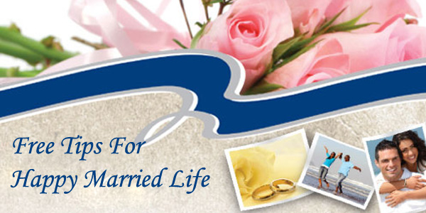 Free Tips For Happy Married Life
