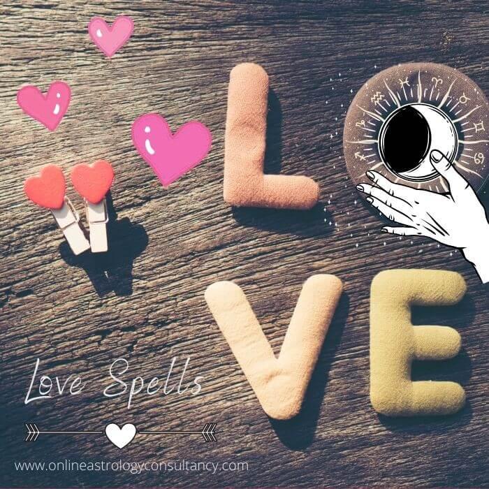 Love spell for Vedic astrologer