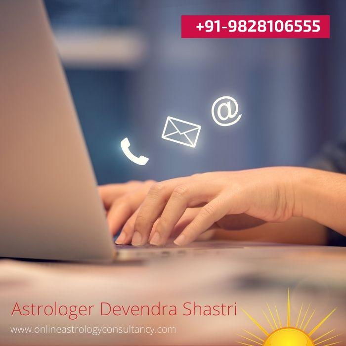 contact best Astrologer Devendra Shastri